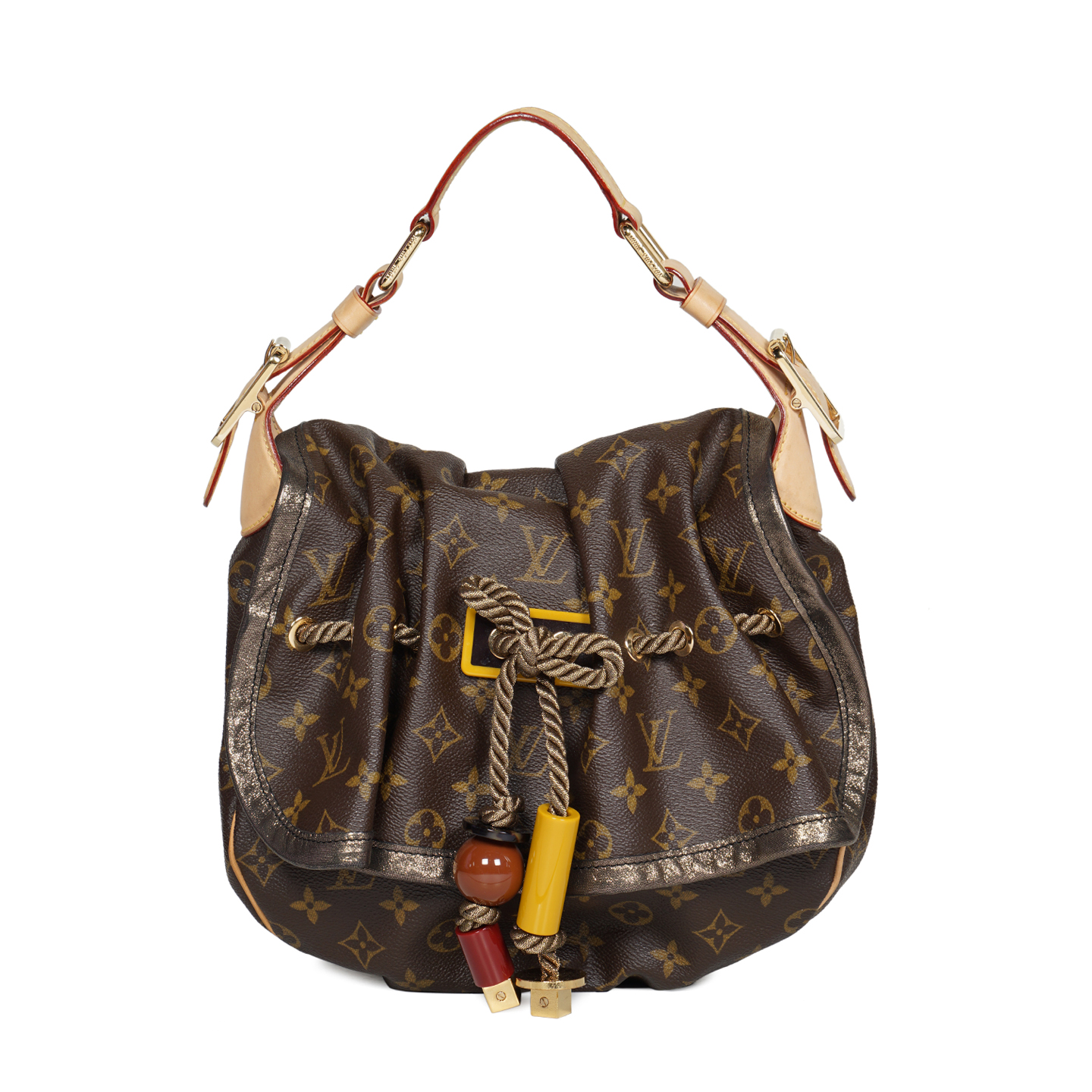 Louis Vuitton Limited Edition Monogram Canvas Kalahari PM Bag 05