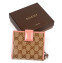 Gucci GG Twins Short Bi Fold Wallet