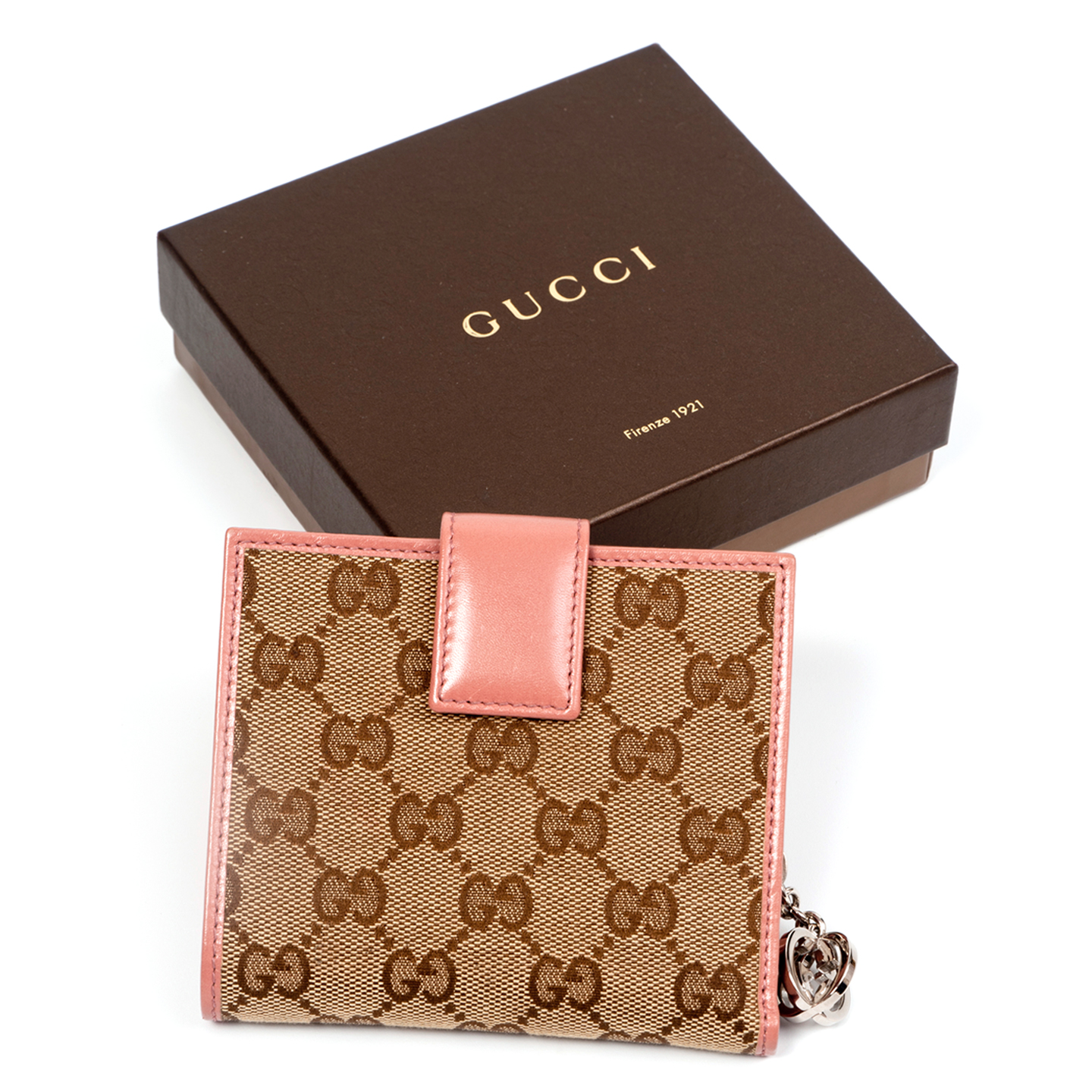 51a3df613757 Gucci GG Twins Short Bi Fold Wallet - LabelCentric
