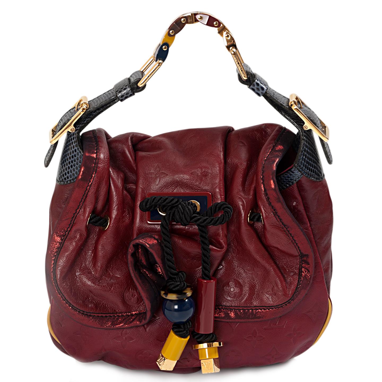 3be5149373b3 Louis Vuitton Limited Edition Paprika Kalahari Bag - LabelCentric