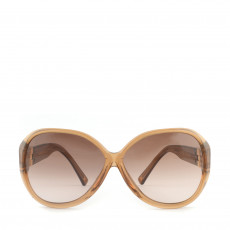 Louis Vuitton Brown Soupcon Oversized Round Sunglasses 01