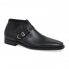Prada Single Buckle Monk Loafers 01
