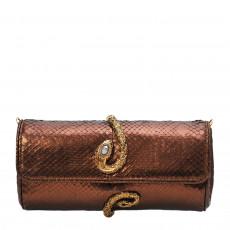 Roberto Cavalli Snake Wrap Clutch 01