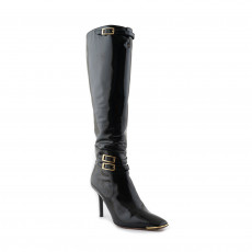 Jimmy Choo Grande Leather Boots Size 37.5-01
