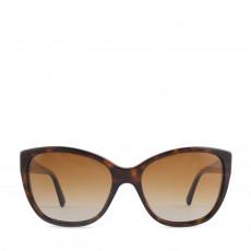 Dolce & Gabbana Logo Plaque Tortoise Sunglasses DG4195 01