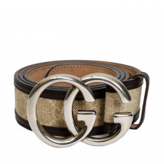 Gucci GG Leather Belt-01