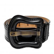 Fendi Patent Leather Waist Belt 01