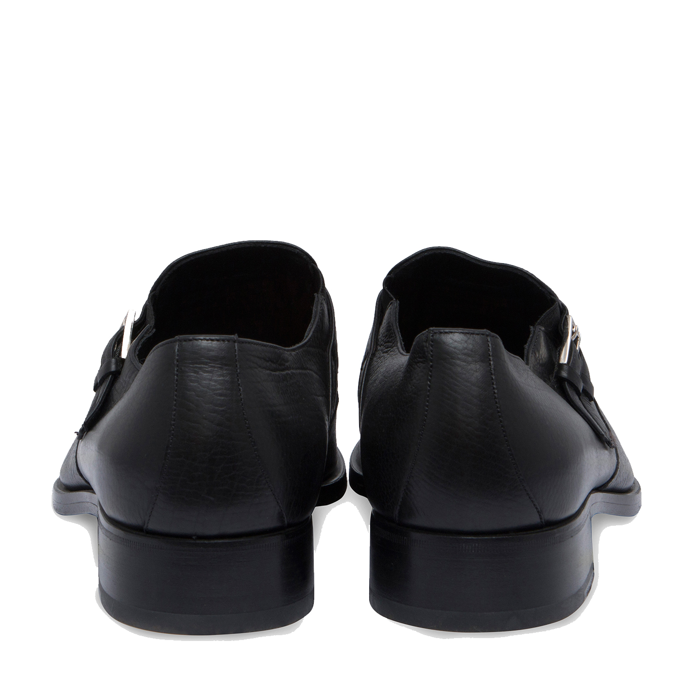 815d876a4c9 Gucci Leather Monk Strap Shoes Size 43E - LabelCentric