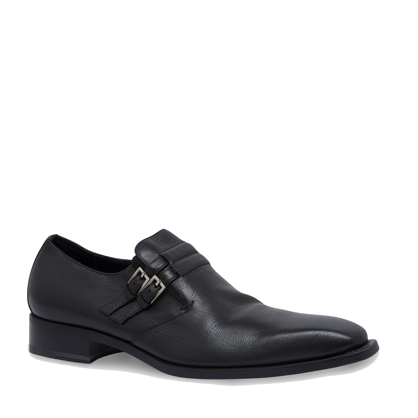 Gucci Leather Monk Strap Loafers 04