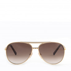Louis Vuitton Attitude Pilote Sunglasses Z0339U Gold 01
