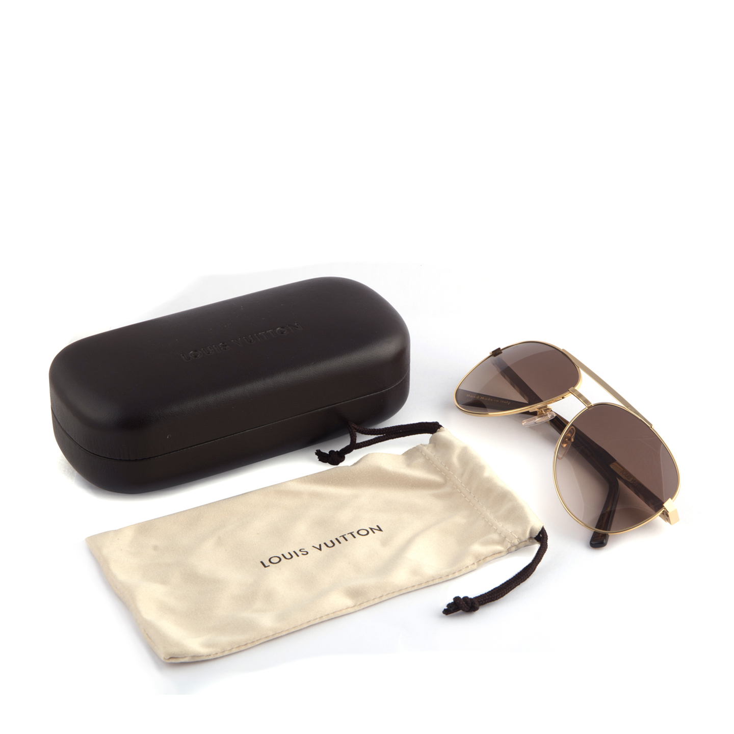 c0975bdd0c73 Louis Vuitton Attitude Pilote Sunglasses Z0339U Gold 05. Louis Vuitton  Attitude Sunglasses For Sale ...