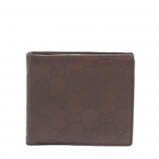 Gucci Men's GG Guccissima Leather Bi-fold Wallet 01