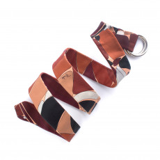 Emilio Pucci Leather Enamel Belt