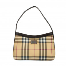 Burberry Nova Check Coated Canvas Mini Bag