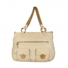 Marc Jacobs Beige Quilted Leather Stella Bag 03