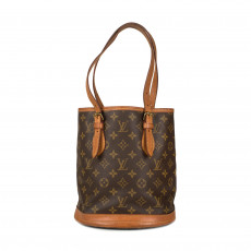 Louis Vuitton Monogram Canvas Petit Bucket Bag 01