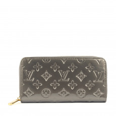 Louis Vuitton Monogram Vernis Zippy Wallet1
