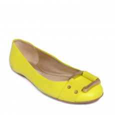 Jimmy Choo Yellow Flats Size 38