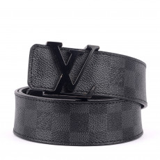 Louis Vuitton Damier Graphite Belt Size 36