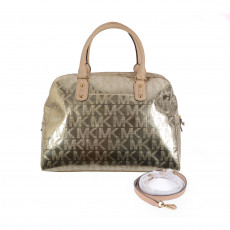 Michael Kors Monogram Metallic Bag 1