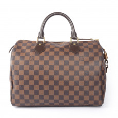 Louis Vuitton Damier Canvas Speedy 30 Satchel