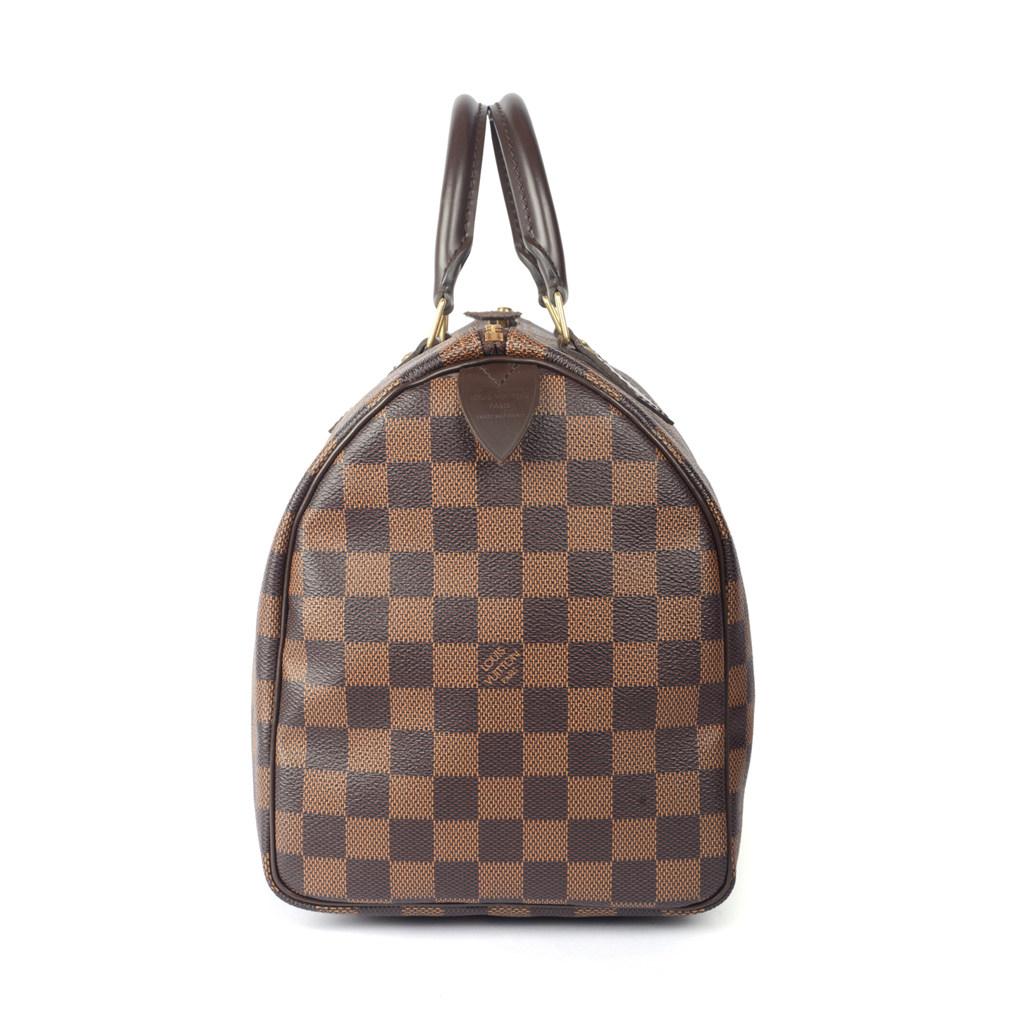 louis vuitton damier ebene canvas speedy 30 bag labelcentric. Black Bedroom Furniture Sets. Home Design Ideas