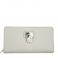 Michael Kors Hamilton Padlock Zip Around Wallet
