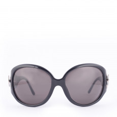 Bvlgari 8023-B Black Sunglasses With Swarovskis 01