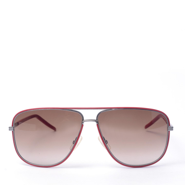 Christian Dior Unisex Red Aviator Sunglasses 0170S 01