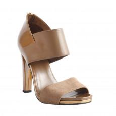 Gucci Patent Leather Suede Karan Platform Size 38-2