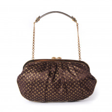 Louis Vuitton Monogram Satin Aumoniere Evening Bag