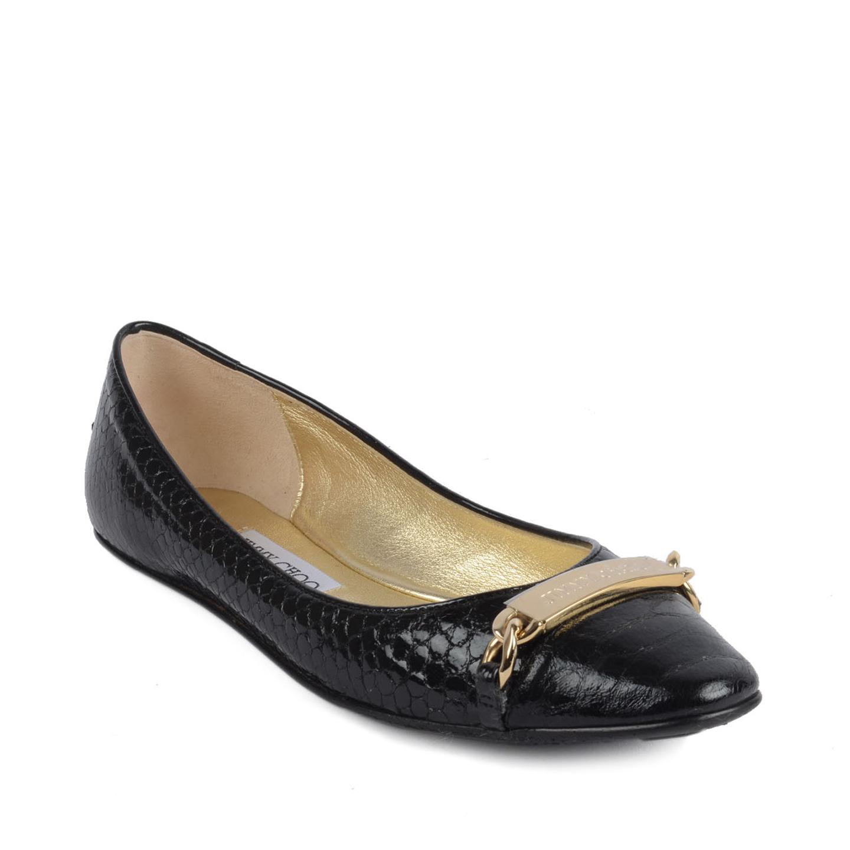 Jimmy Choo Black Ballet Flats Size 3