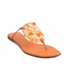 Hermes Leather Slide Sandals Size39