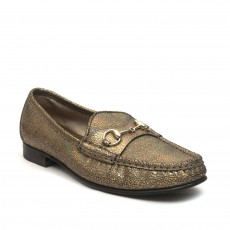 Gucci 60th Anniversary 1953 Horsebit Metallic Loafer Size 37 2