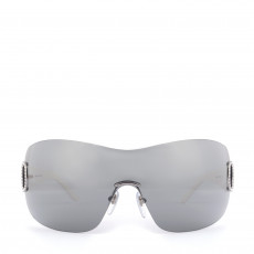 Salvatore Ferragamo White Shield Sunglasses 1108-B 01