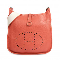 Hermes Jaipur Rose Evelyne III PM Messenger Bag