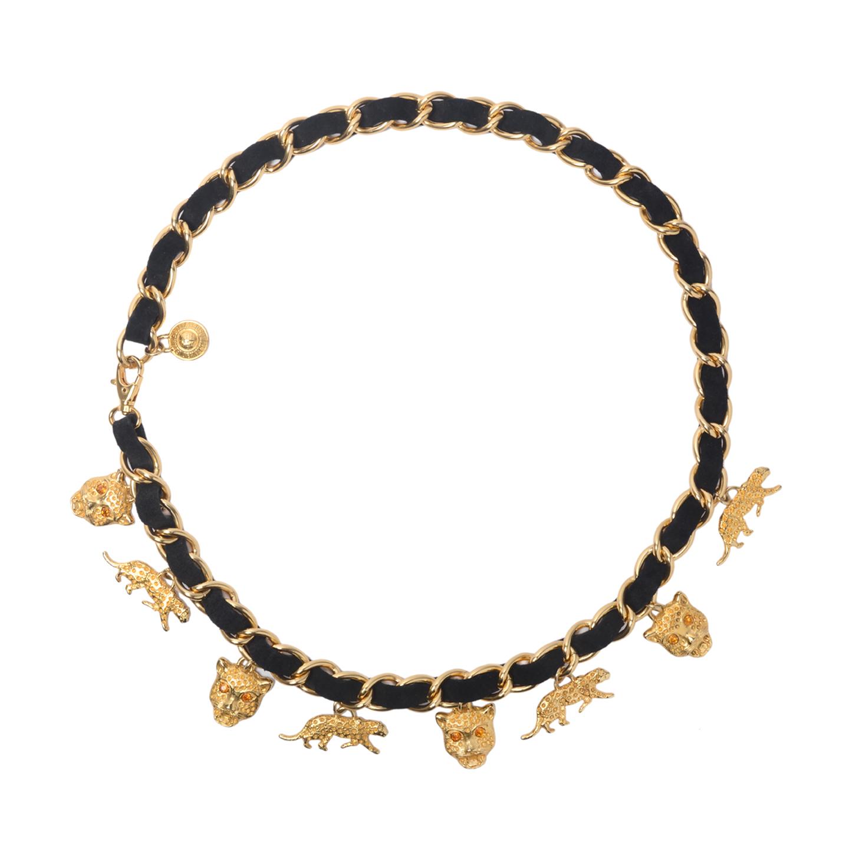 Ferretti Jeans Philosophy Gold Charms Belt (01)