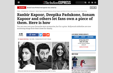 Ranbir Kapoor, Deepika Padukone, Sonam Kapoor and others let fans own a piece of them.