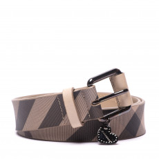 Burberry Smoked Check 'LovIt' Belt (01)