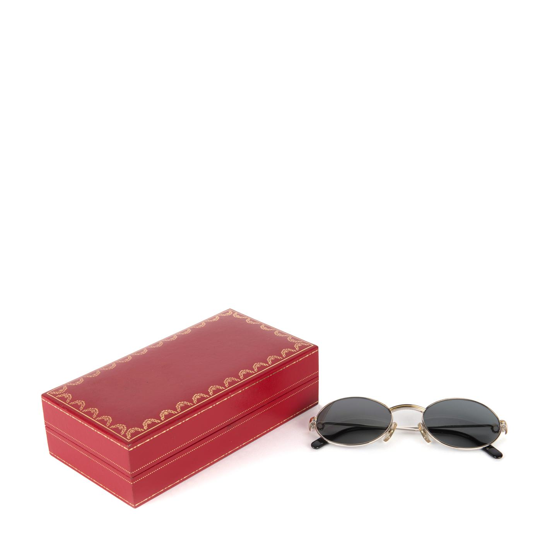 277b5bf519f3 VINTAGE Cartier Saint Honore Men s Sunglasses - LabelCentric