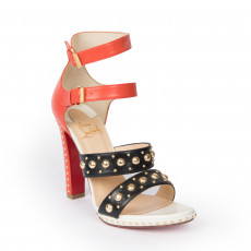 Christian Louboutin 'Decodame 120' Studded Sandals (01)