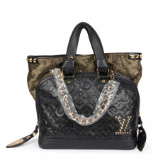 Louis Vuitton Limited Edition Monogram Double Jeu Neo Alma Bag (02)