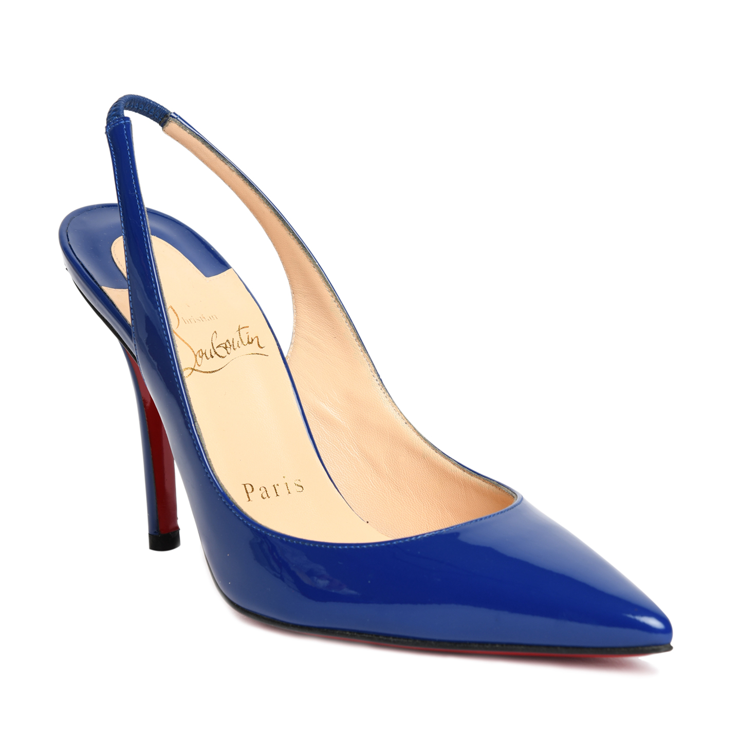 Christian Louboutin Neptune 'Apostrophy' Slingback Pumps 01