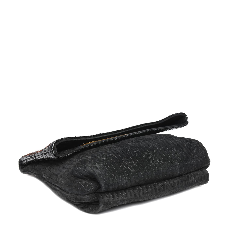 12c211c91ea8 ... Louis Vuitton Limited Edition Monogram Motard Afterdark Clutch Bag 04  ...