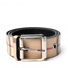 Burberry Grommet Nova Check Belt 01