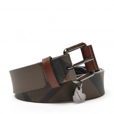 Burberry Brown Nova Check 'LovIt' Belt 01