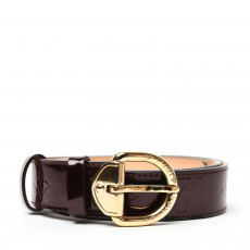 Louis Vuitton Amarante Monogram Vernis Belt 01