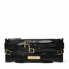 Burberry Leather Parmoor Mini Bridle Clutch Bag 01