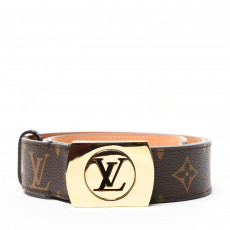 Louis Vuitton Monogram Canvas Fortune Belt 01