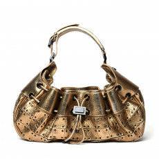 Burberry Prorsum Studded Warrior Metallic Gold Bag 01